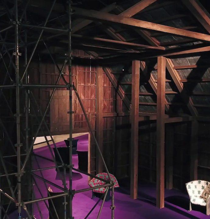 Première installation de Calvin Klein dans le cadre de Design/Miami Basel